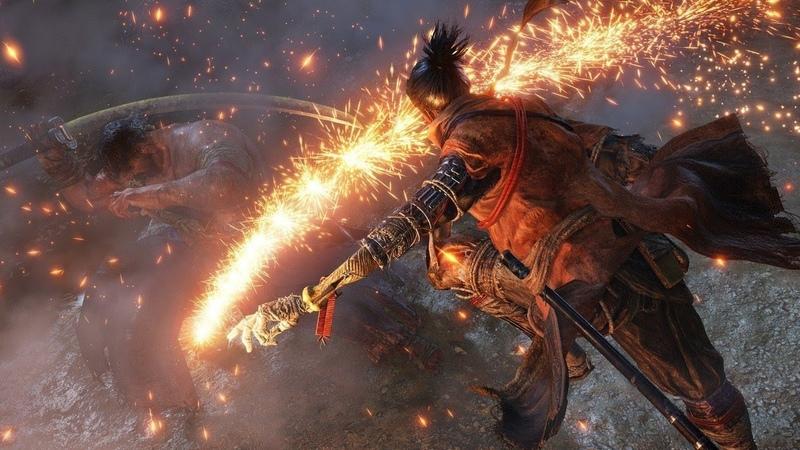 How Sekiros Shinobi Prosthetic Opens Up Gameplay – Gamescom 2018