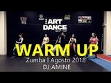 WARM UP AMAZING 2018 ZUMBA - DJ AMINE - Coreografia l Cia Art Dance