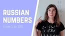 Learn numbers 1 to 100 in Russian. Speaking practice | How to count in Russian