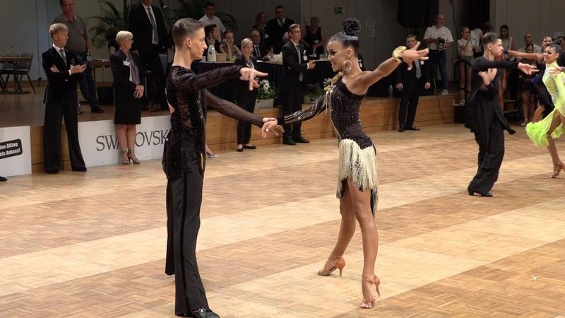 Danila Boriskin - Elizaveta Ulianova RUS, Samba | GOC Junior II Latin