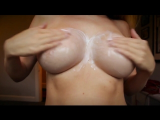 Lucy-Anne Brooks - Cream Rub boobs big tits massage casting // nude model // BOOBs / Naked / GIRLs Eurotic