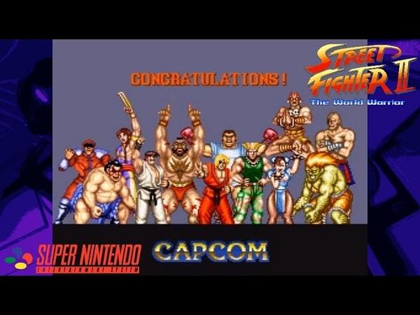 Street Fighter II Credits Compilation (1992-1994) - NintendoComplete