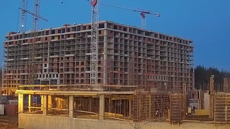 ЖК Ariosto ход строительства 06 04 2019 Недельная съёмка