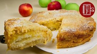 Самый ленивый яблочный пирог