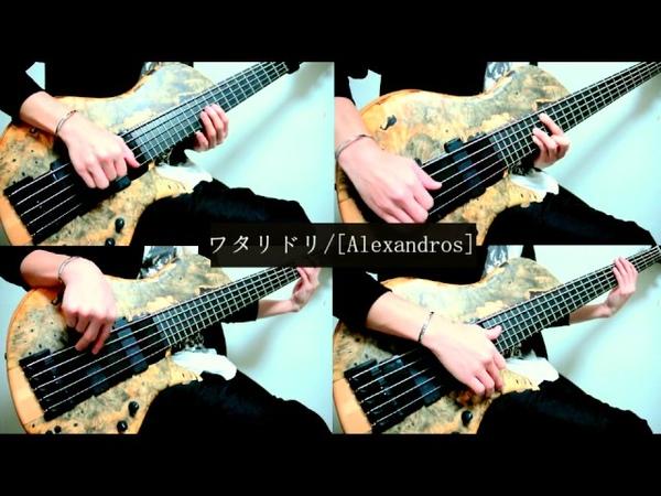 ワタリドリ/[Alexandros]をベース4重奏で弾いてみた!