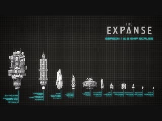 The Ships of The Expanse / Корабли