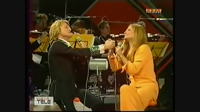 Claude François et Dalida (medley de chansons italiennes - 1973)
