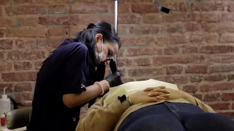 Дипломированный мастер перманентного макияжа Ульяна lionUlyanaspb