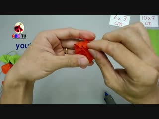 ABC TV _ How To Make Physalis Alkekengi From Crepe Paper - Craft Tutorial