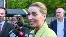 Denmark PM frontrunner Frederiksen casts vote in general elections