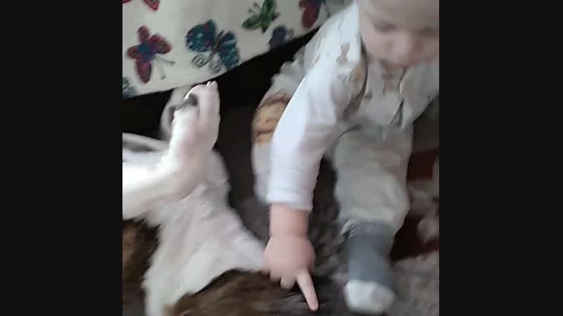 Буль и дети