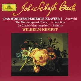 Wilhelm Kempff альбом Bach: The Well-tempered Clavier I - Selection
