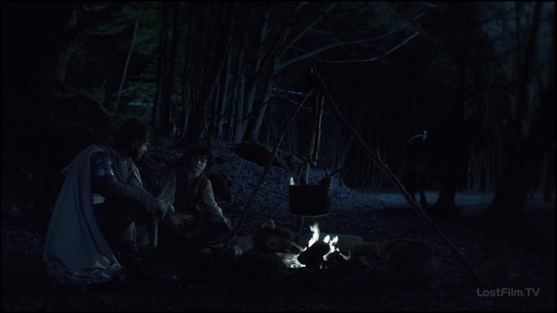Отрывок из серяла Падения ордена, Волки