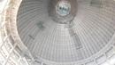 Главный зал под гигантским куполом ToVP Майапур февраль 2018