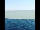 Линия где встречаются Атлантический океан и Тихий океан Они прикасаются но не смешиваются друг с другом