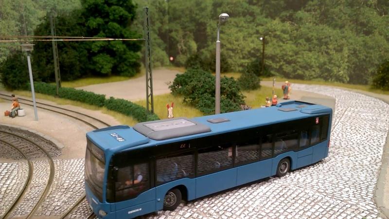 Bus MB Citaro H0 RC 1:87 Modell Rietze