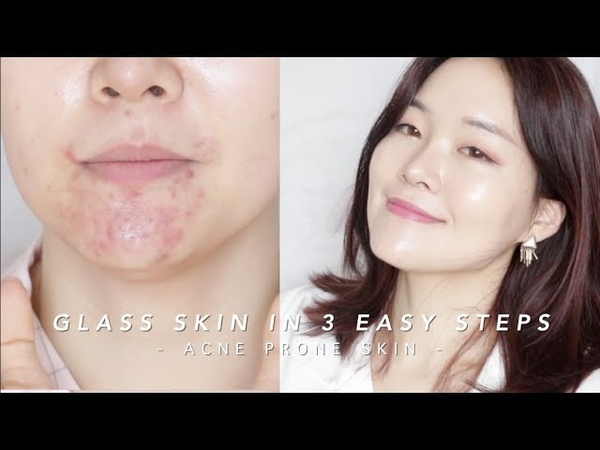 How to get Glass Skin in 3 steps lazygirlhack | 단 3단계로 광채피부만들기!