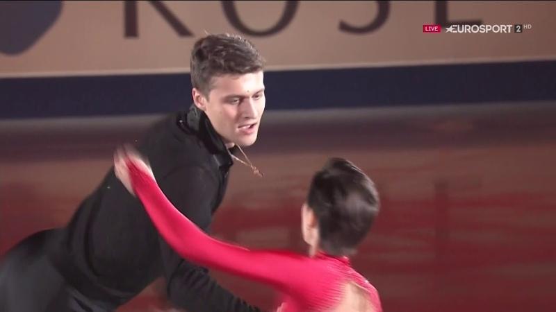Наталья Забияко Александр Энберт Гала NHK Trophy 2018