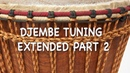 Djembe Tuning Extended Part 2