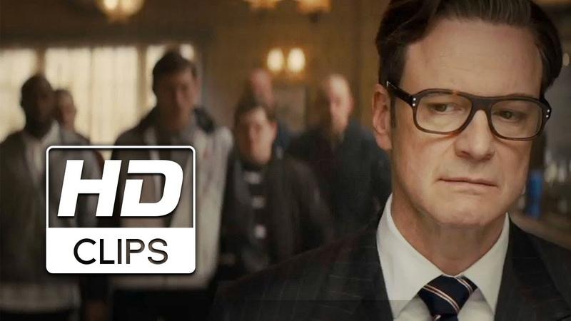 Kingsman: El Servicio Secreto | Clip Pelea en el Bar (HD)
