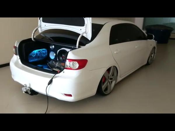 Corolla Branco Com Roda strong Aro 20
