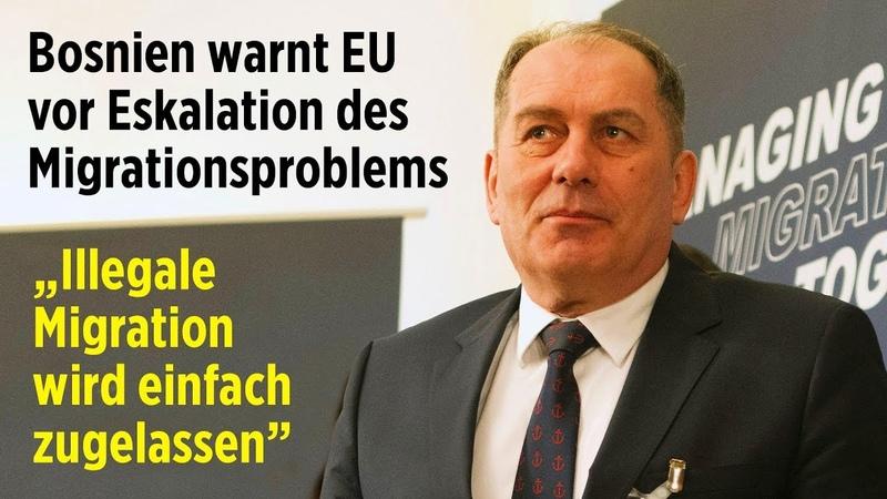 """""""Illegale Migration wird einfach zugelassen"""": Bosnien warnt EU vor Eskalation des Migrationsproblems"""