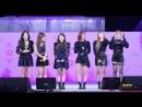 · Fancam · 181008 · OH MY GIRL - Remember Me Secret Garden Windy Day · Hangeul Cultural Festival ·