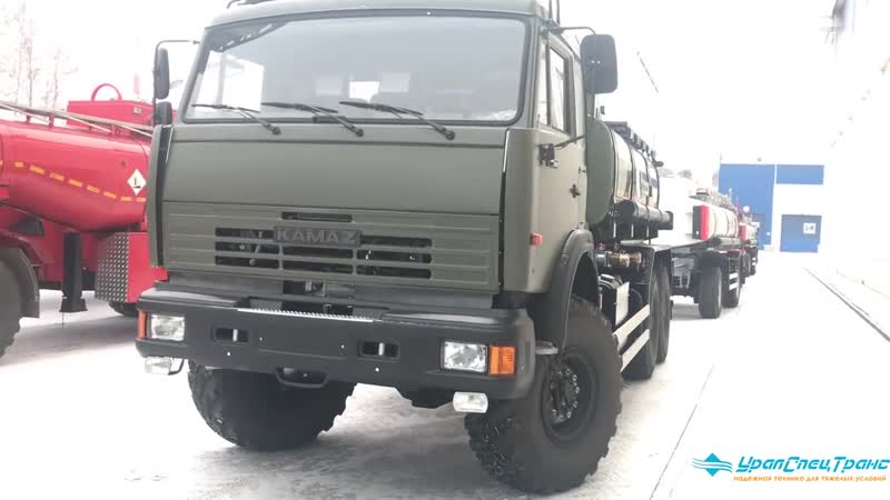 Автотопливозаправщик на военном Камаз Евро 2