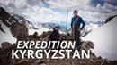 Measuring glaciers at 3 200m Ala Archa Expedition