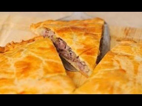 Пирог с Мясом и Картофелем Pie with Meat and Potatoes Пошаговый Рецепт