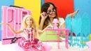 Barbie giyim mağazasını dekore ediyor Çocuk videoları