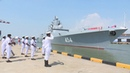 Admiral of the Fleet of the Soviet Union Gorshkov arrives at port of Colombo