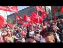 Митинг против пенсионного геноцида 22 сентября Интернационал панорама