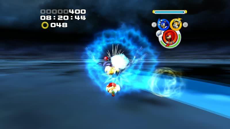 Sonic Heroes Last Story Metal Overlord Metal Sonic Final Boss