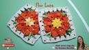 👊 Flor Luna em Croche - Pink Artes Croche by Rosana Recchia