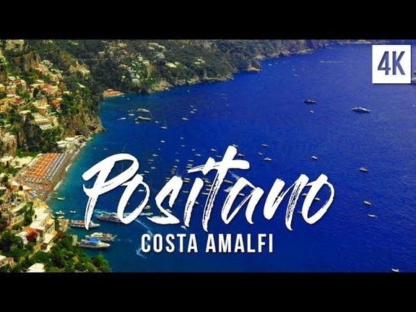 Positano Costa Amalfi 2018, Costiera Amalfitana, Amalfi Coast Italy   4K drone footage, DJI Mavic