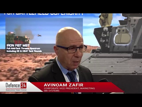 Айрон Фист и БКС на 0:55 The lighter Active Vehicle Protection Systems (ASOP) of IMI Systems