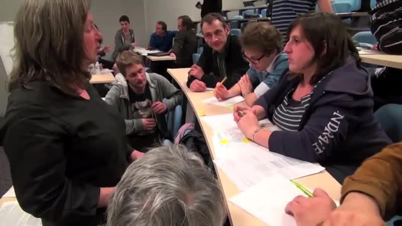 Atelier constituant à Caen, avril 2013, Etienne Chouard