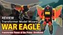Wei Jang WAR EAGLE (divebomb KO - Transformer power of prime) Review