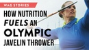 How Nutrition Fuels an Olympic Javelin Thrower