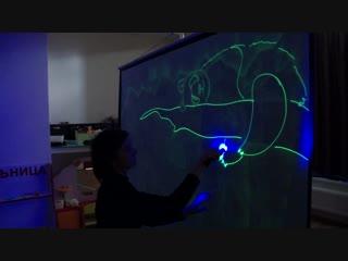 Детское шоу световых картин (г. Самара) - это настоящее волшебство!!!