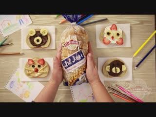 Простые и вкусные идеи детских бутербродов