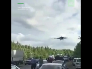 Несколько истребителей сели на трассу во время учений в Хабаровском крае