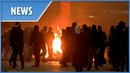 Greece petrol bombs fireworks and explosions as Athens becomes a war zone