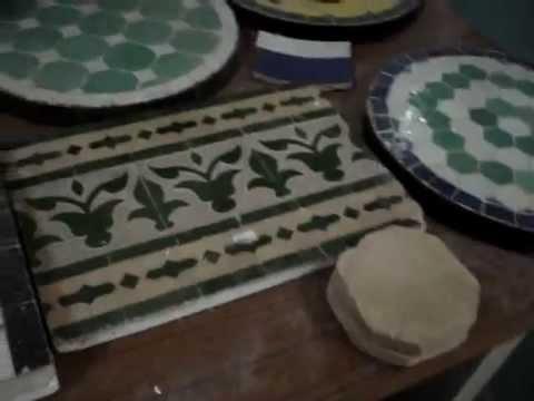 Mosaic tile showroom