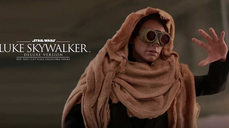 STAR WARS ROTJ Hot Toys! LUKE SKYWALKER ENDOR!