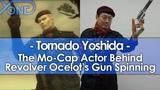The Mo-Cap Actor Behind Revolver Ocelot's Gun Spinning Tornado Yoshida