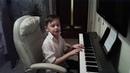 Учимся играть на пианино. Кот Леопольд