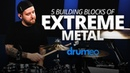 Dan Wilding The 5 Building Blocks of Extreme Metal FULL DRUM LESSON