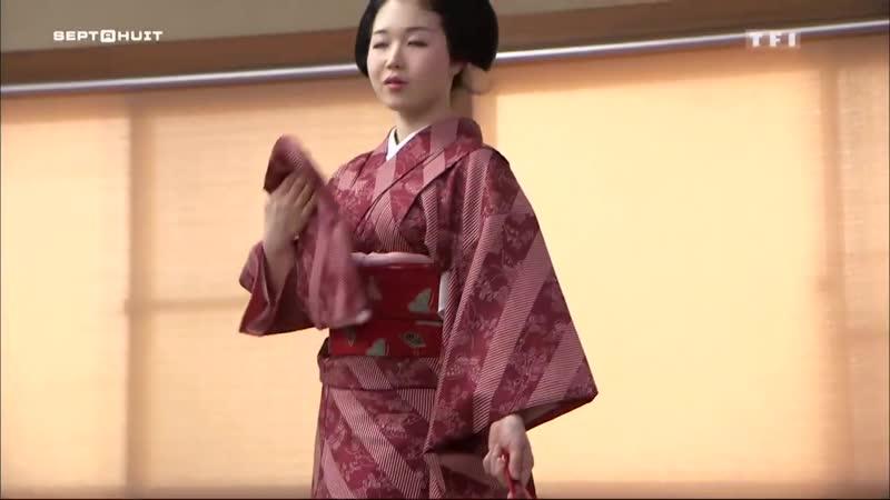 Japon Au cœur de lune des dernières écoles de geishas